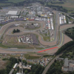 Sachsenring, in Germany. Photo courtesy Michelin.