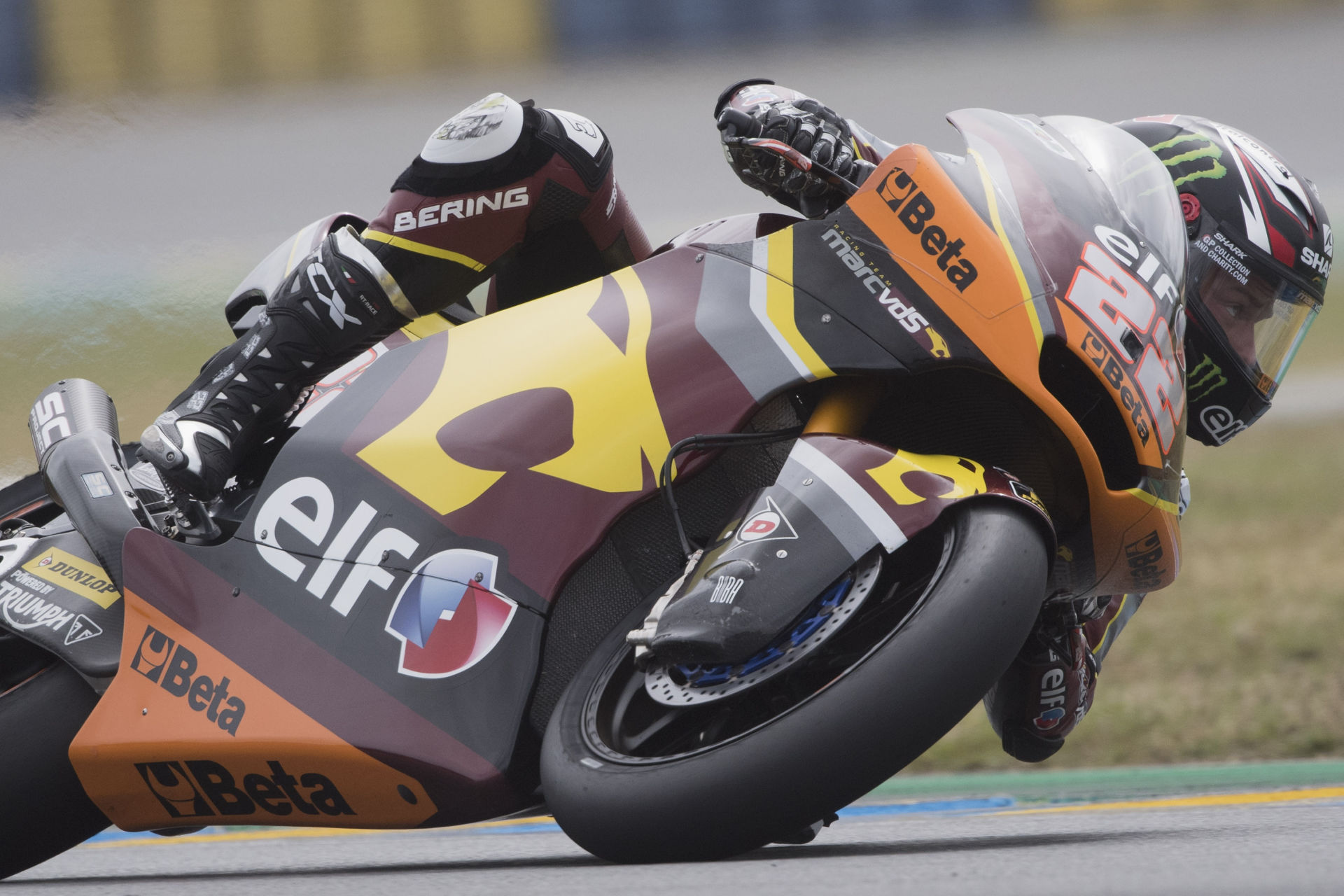 Sam Lowes (22), as seen at Le Mans. Photo courtesy Marc VDS Racing Team.