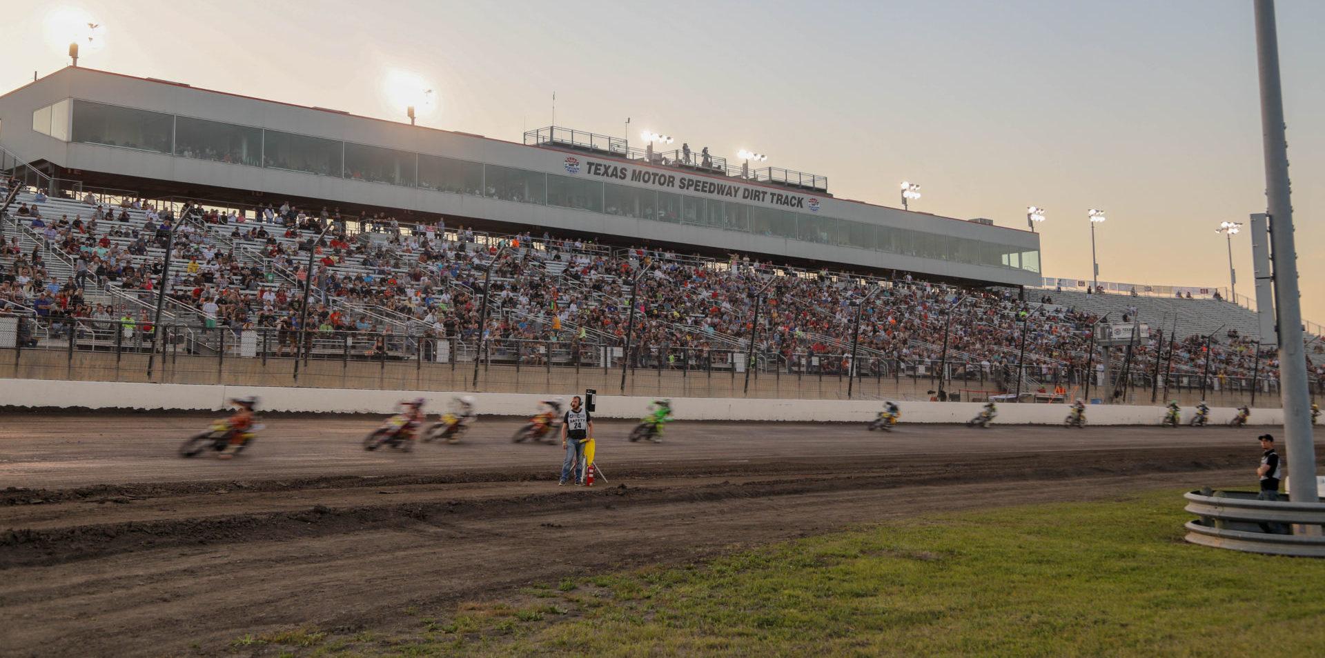 Texas Motor Speedway. Photo by Scott Hunter, courtesy AFT.