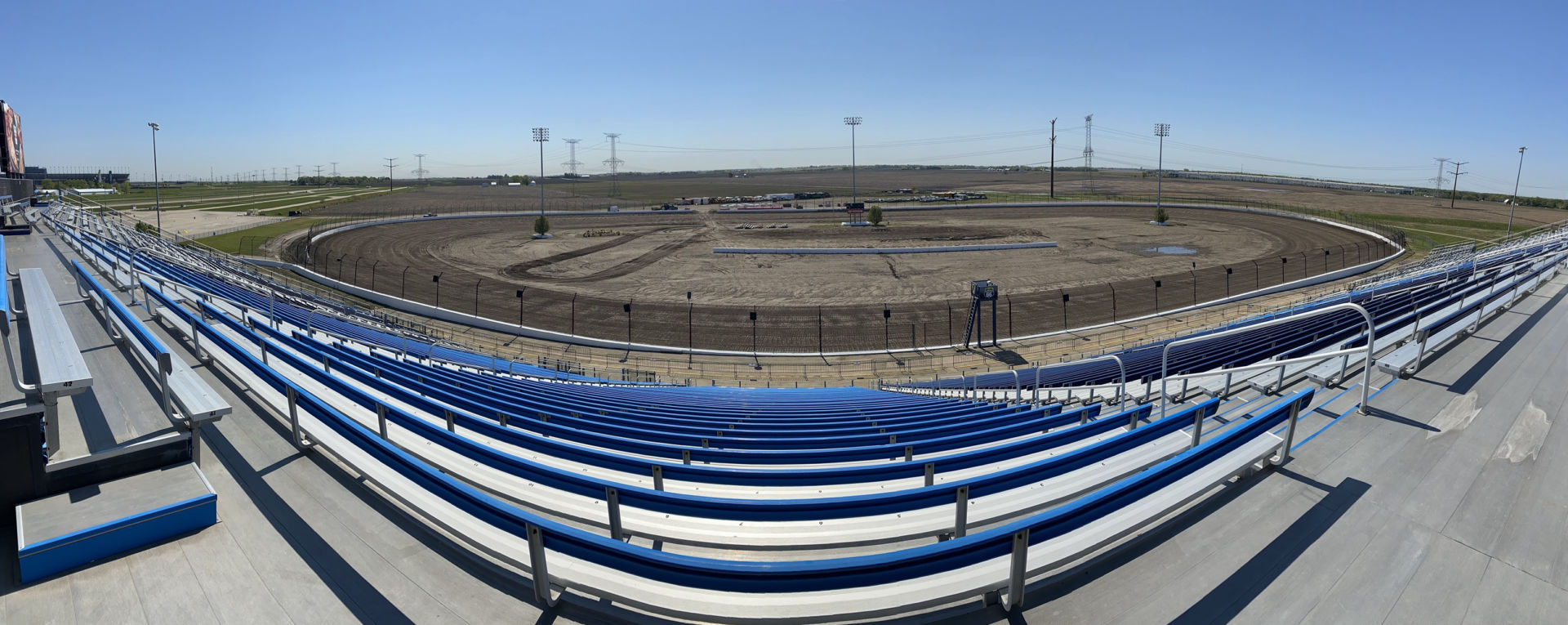 The Dirt Oval at Route 66 Raceway. Photo courtesy Route 66 Raceway.