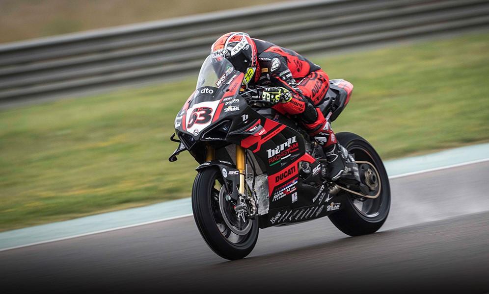 Tito Rabat (53). Photo courtesy Barni Racing Team.