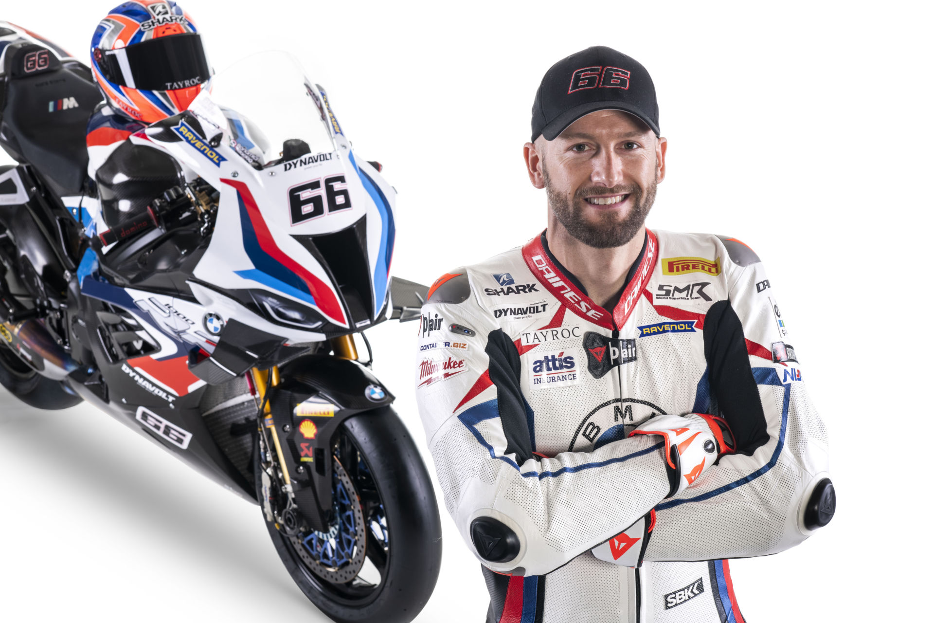 Tom Sykes. Photo courtesy BMW Motorrad Motorsport.