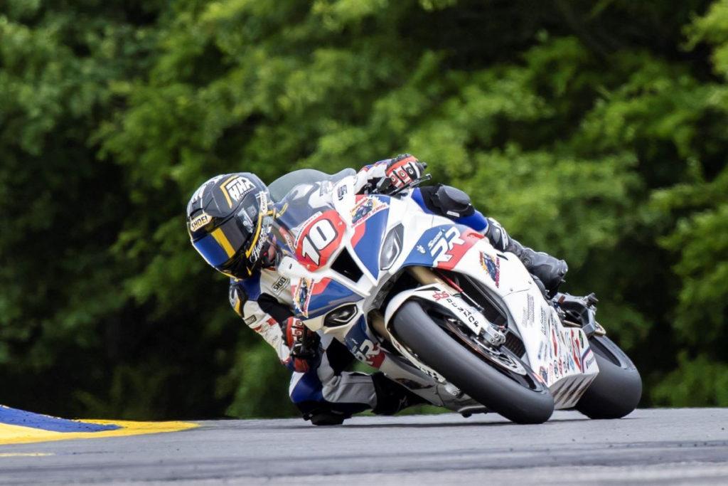 Travis Wyman (10). Photo by Paul Phillips, courtesy Travis Wyman Racing.