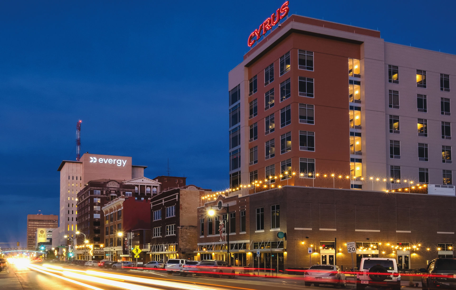Topeka, Kansas. Photo courtesy AHRMA.