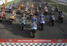 The 2021 MotoGP World Championship field of riders. Photo courtesy Dorna.