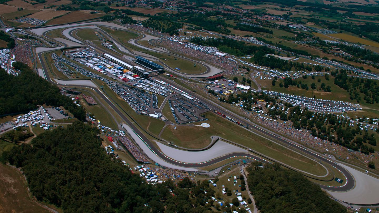 The Mugello Circuit in Italy. Photo courtesy Michelin.