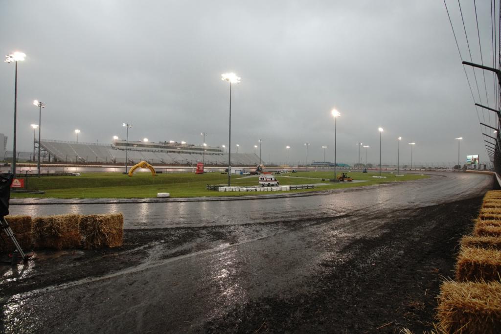Rain-soaked Texas Motor Speedway. Photo courtesy AFT.