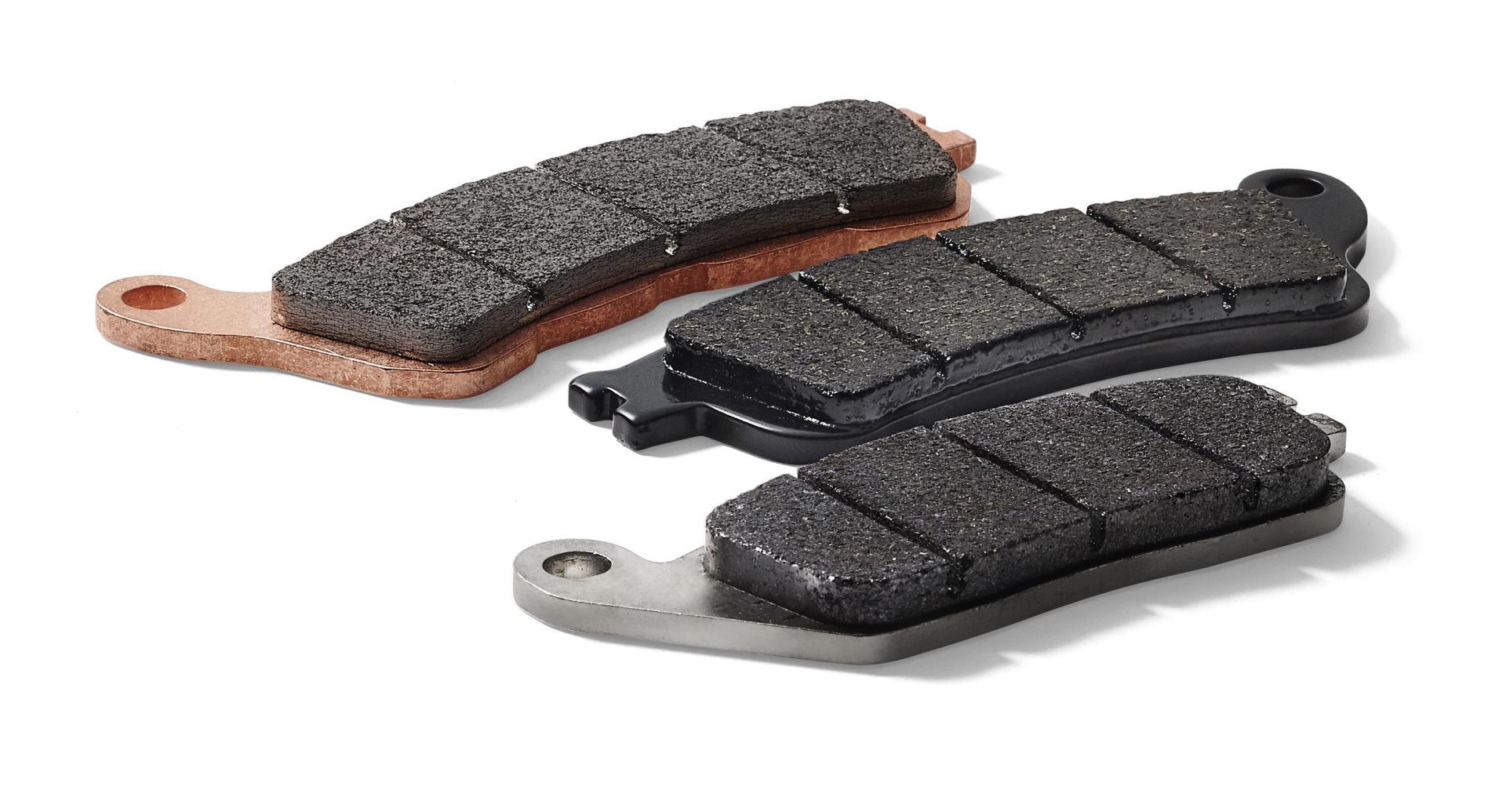 SBS motorcycle brake pads. Photo courtesy SBS.