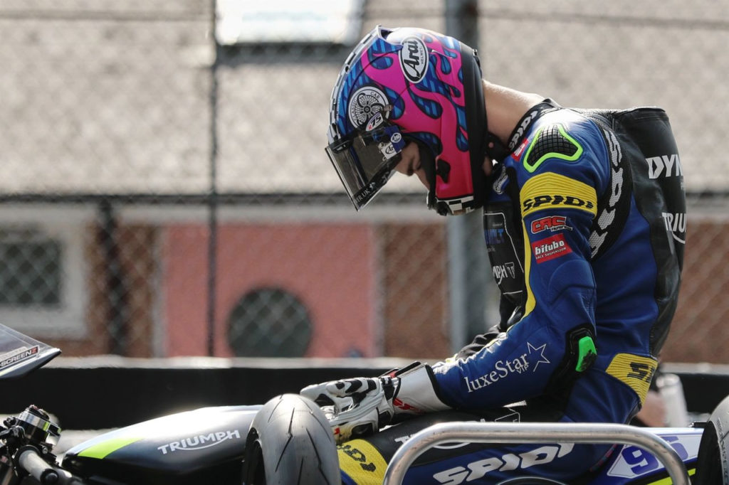 Brandon Paasch. Photo courtesy Dynavolt Triumph.
