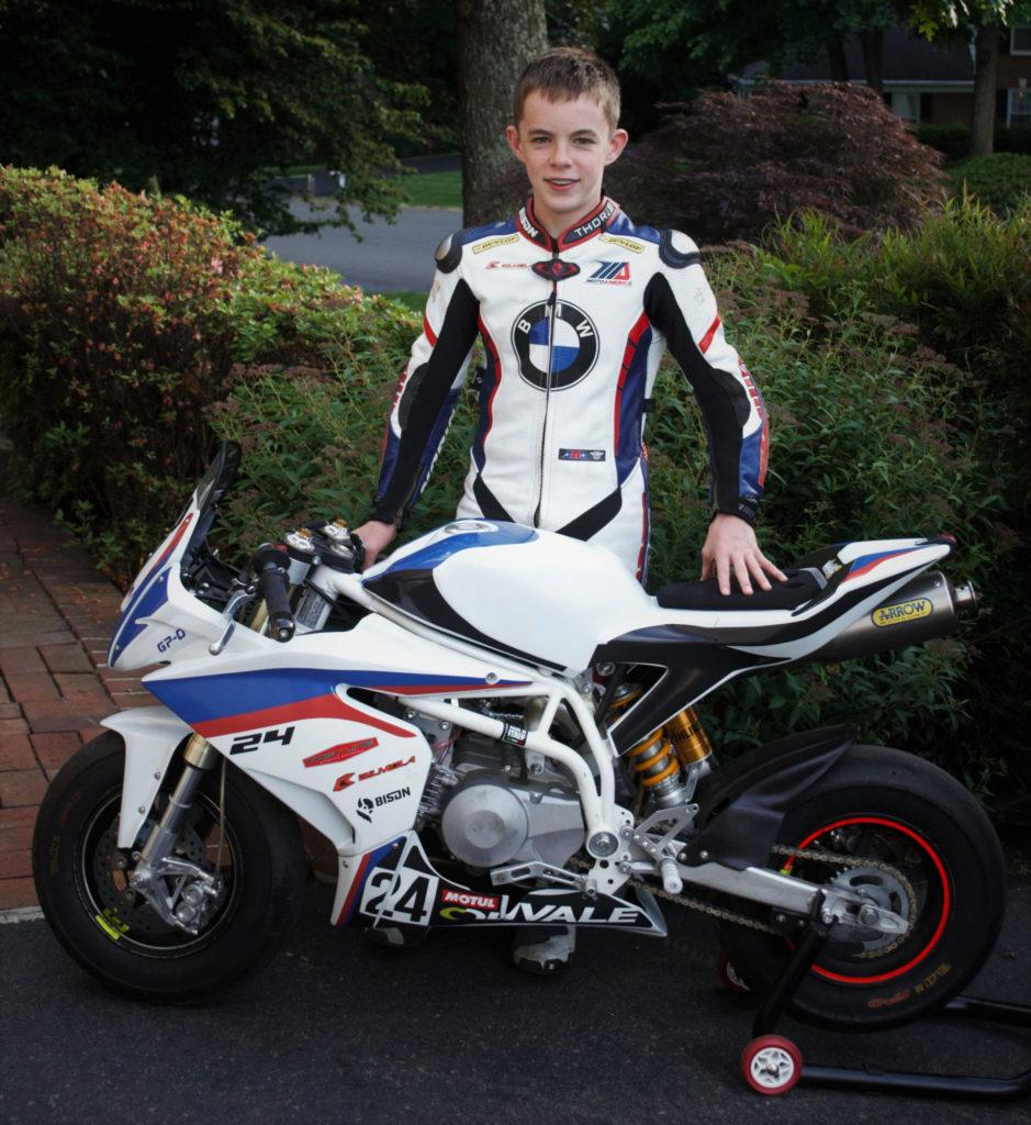 Chris Clark. Photo courtesy Travis Wyman Racing.