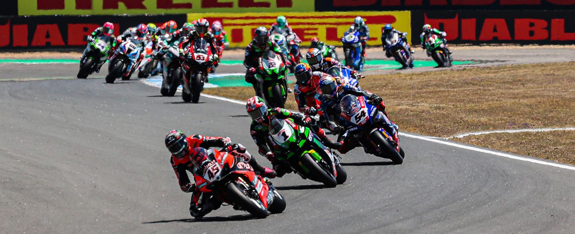 The FIM Superbike World Championship is heading to Misano World Circuit Marco Simoncelli next weekend. Photo courtesy Dorna.