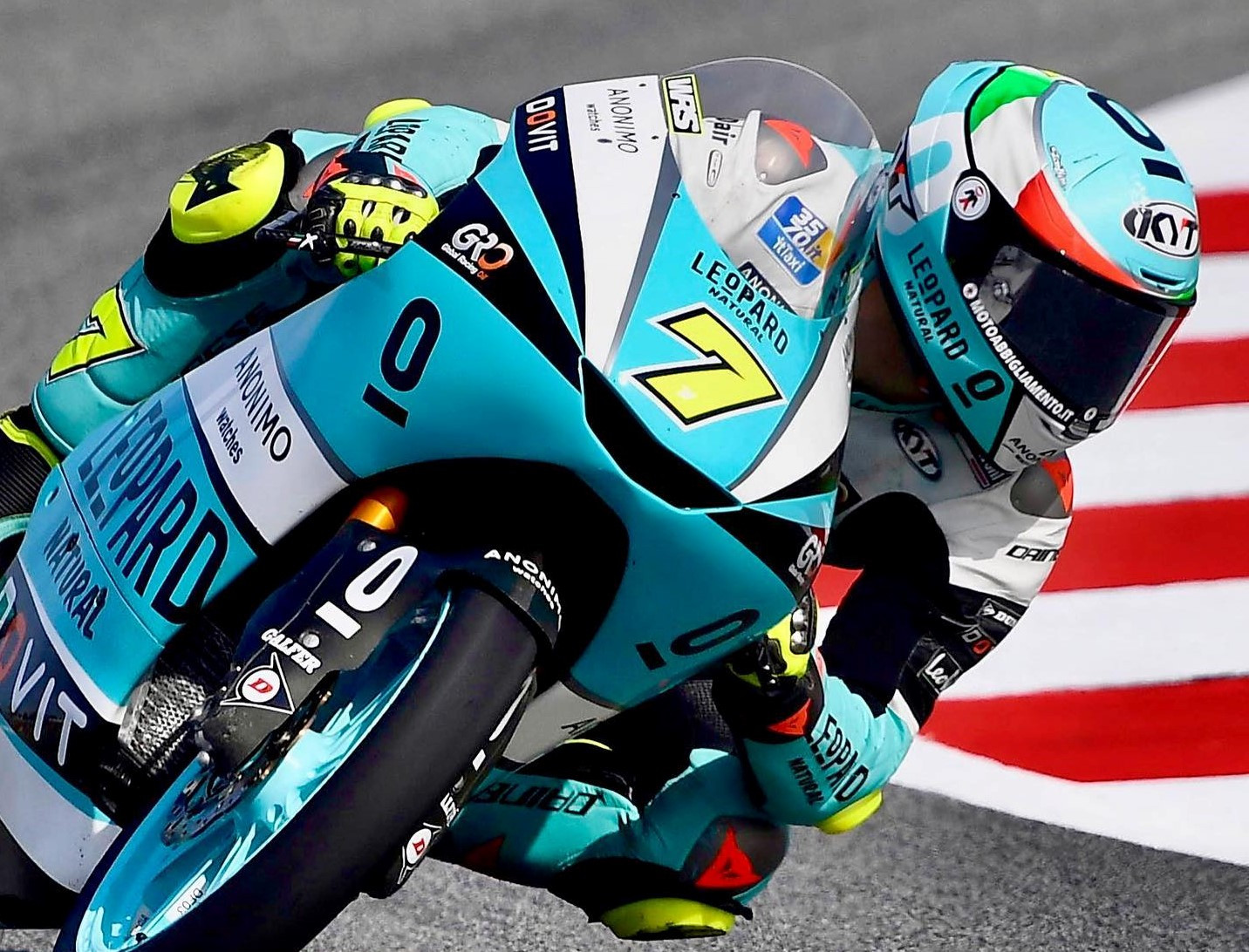 Dennis Foggia (7). Photo courtesy Leopard Racing.