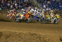 Action from the Springfield Short Track in 2019. Photo courtesy AFT.