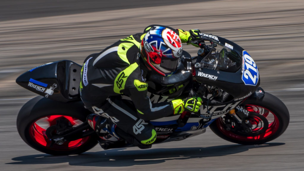 Ethan Cook (219). Photo by Karen E. Ott, courtesy Ethan Cook Racing.