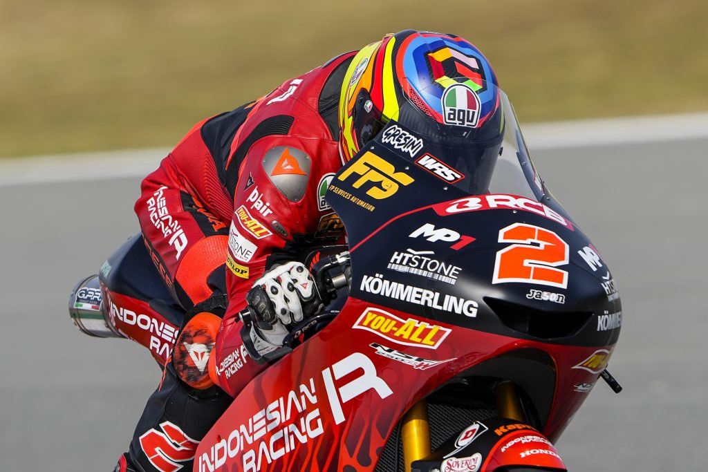 Gabriel Rodrigo (2). Photo courtesy Gresini Racing.