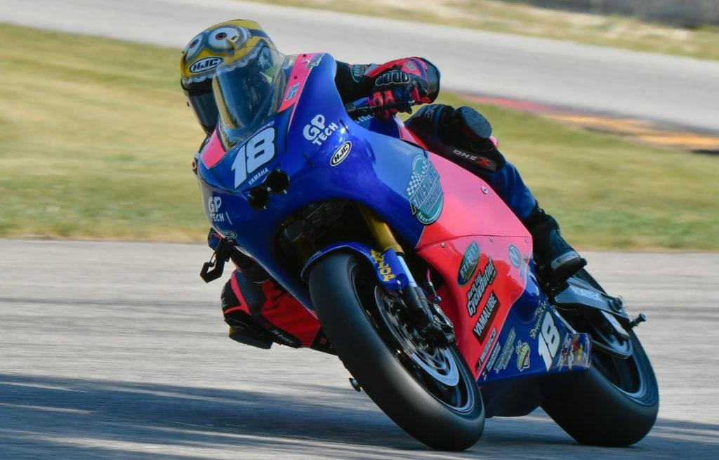 Jackson Blackmon (18). Photo by Sara Chappell Photos, courtesy Jackson Blackmon Racing.