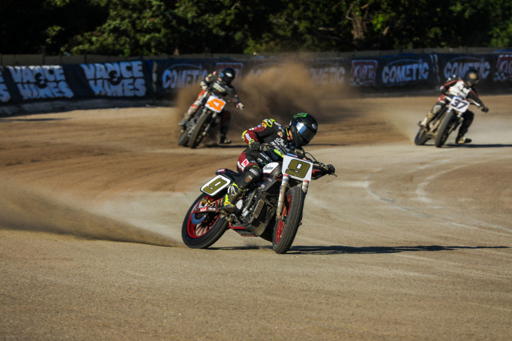 Jared Mees (9). Photo courtesy Indian Motorcycle.