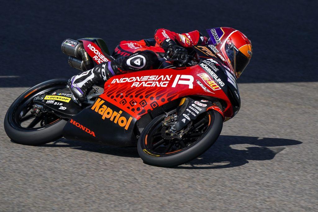 Jeremy Alcoba (52). Photo courtesy Gresini Racing.