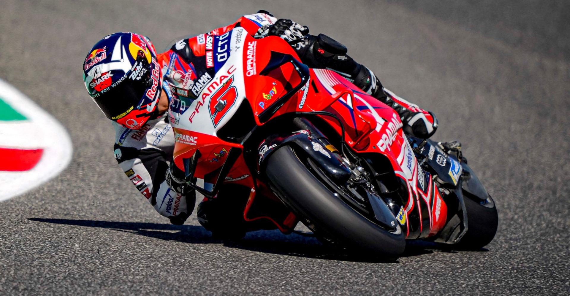 Johann Zarco (5). Photo courtesy Pramac Racing.
