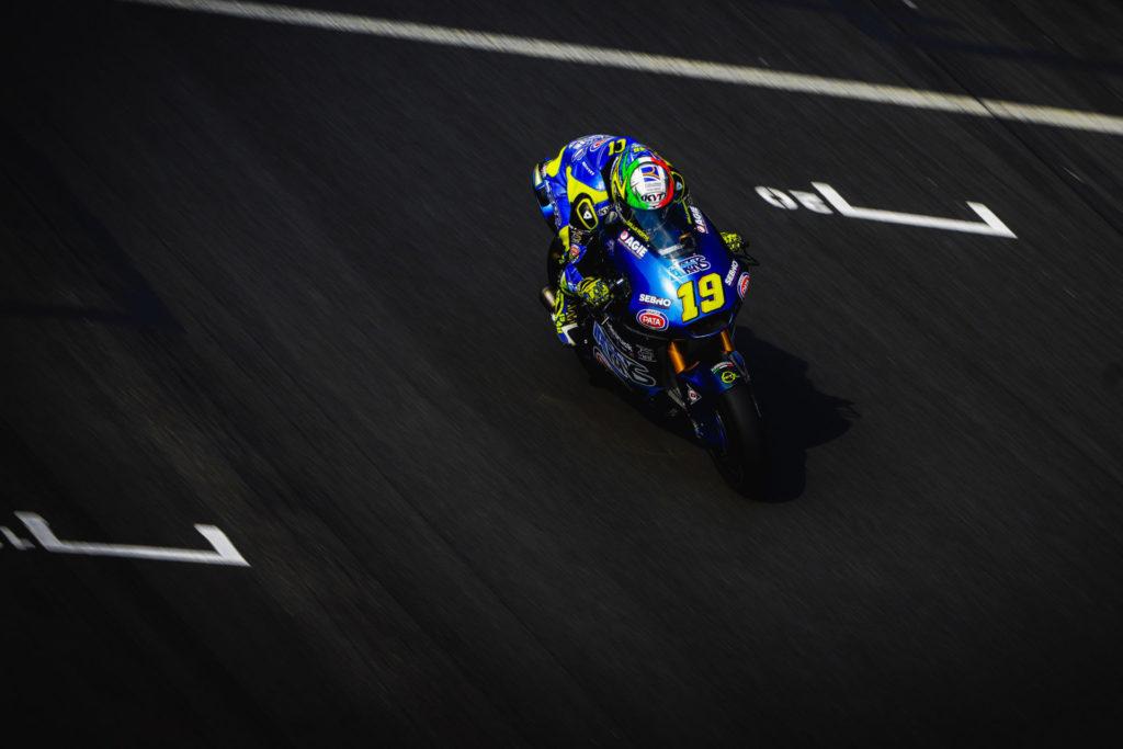 Lorenzo Dalla Porta (19). Photo courtesy Italtrans Racing.