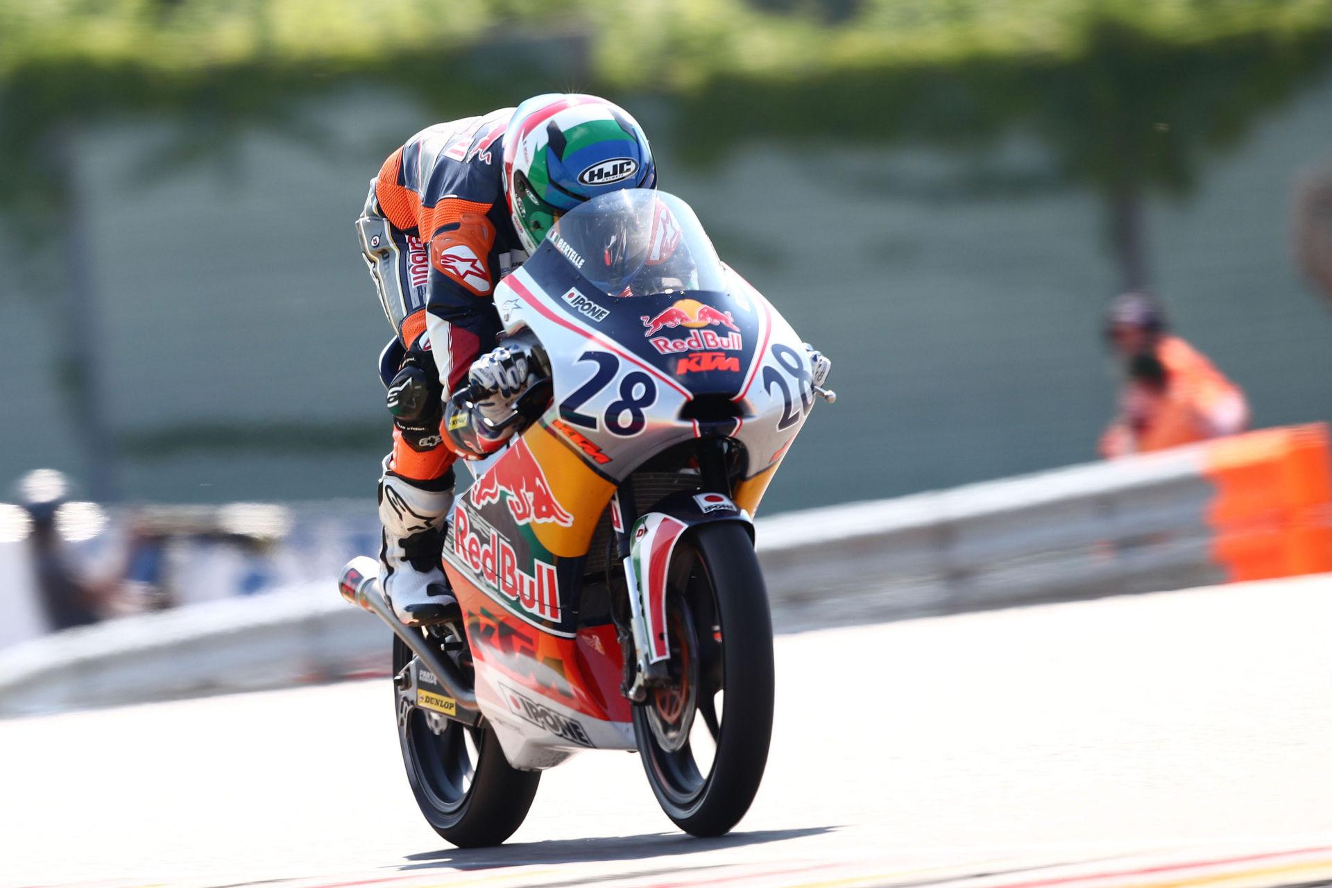 Matteo Bertelle (28). Photo courtesy Red Bull.