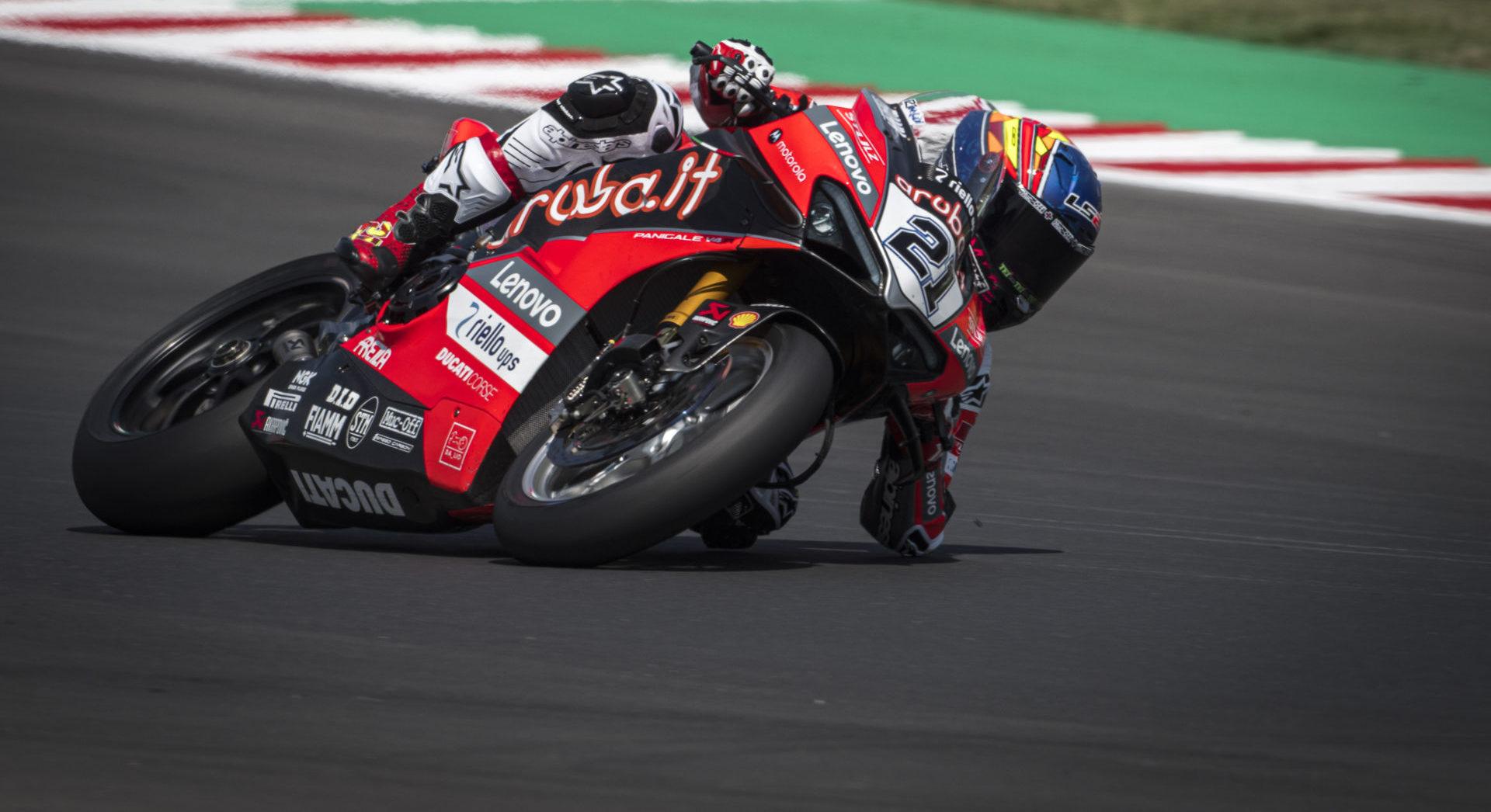 Michael Ruben Rinaldo (21). Photo courtesy Ducati.