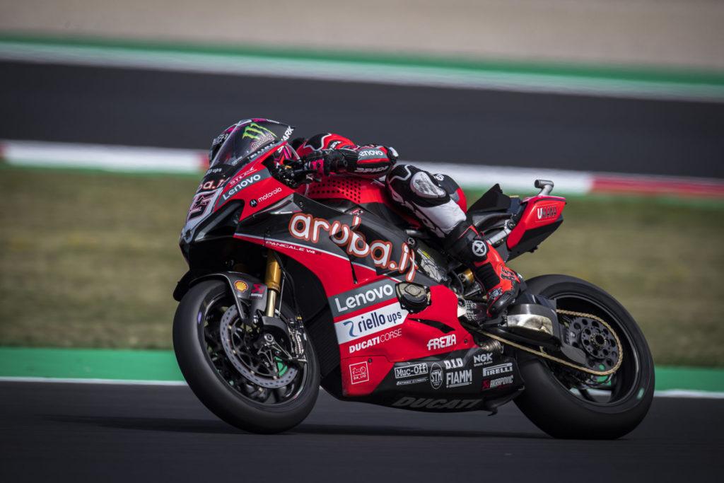 Scott Redding (45). Photo courtesy Ducati.