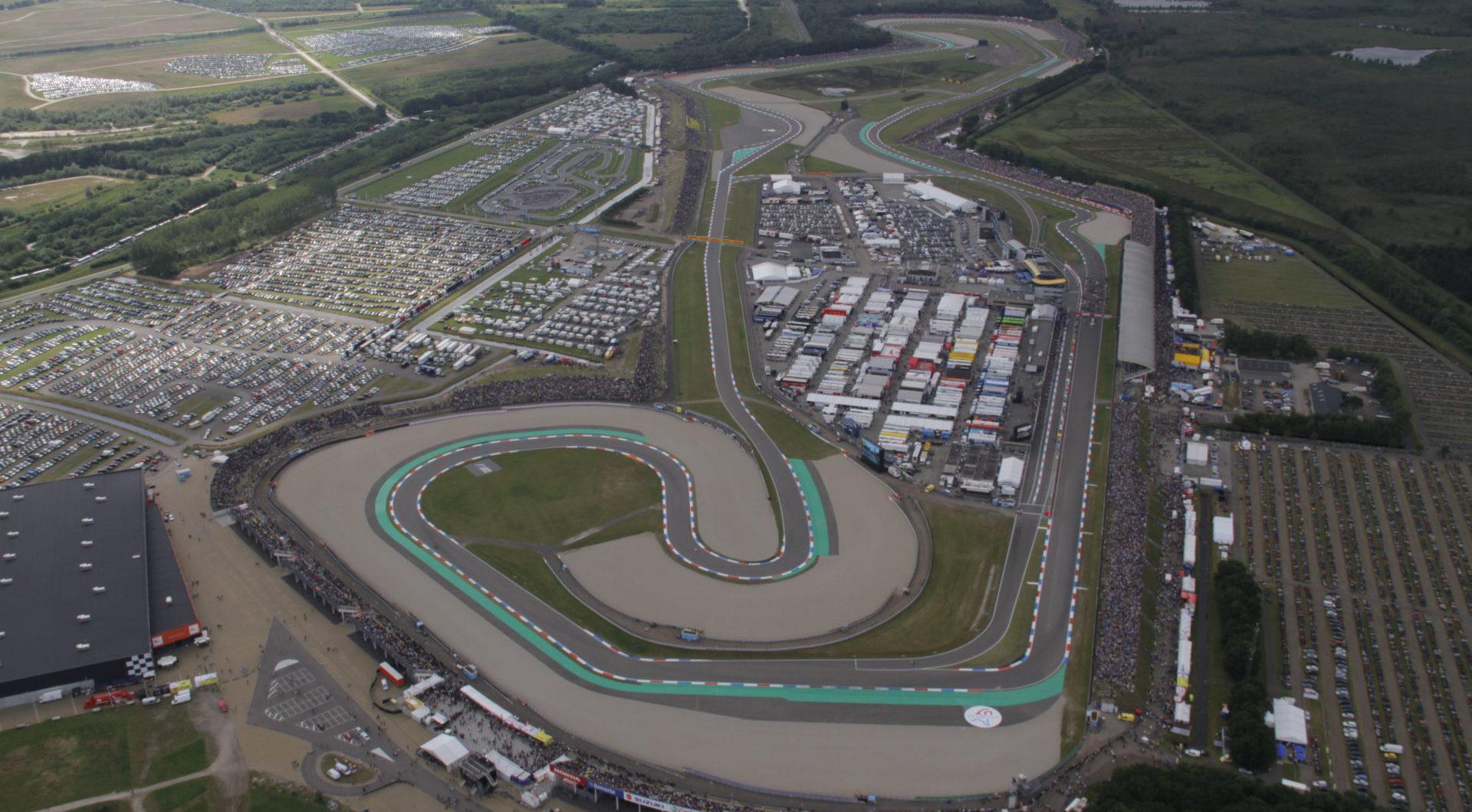 TT Circuit Assen. Photo courtesy Michelin.