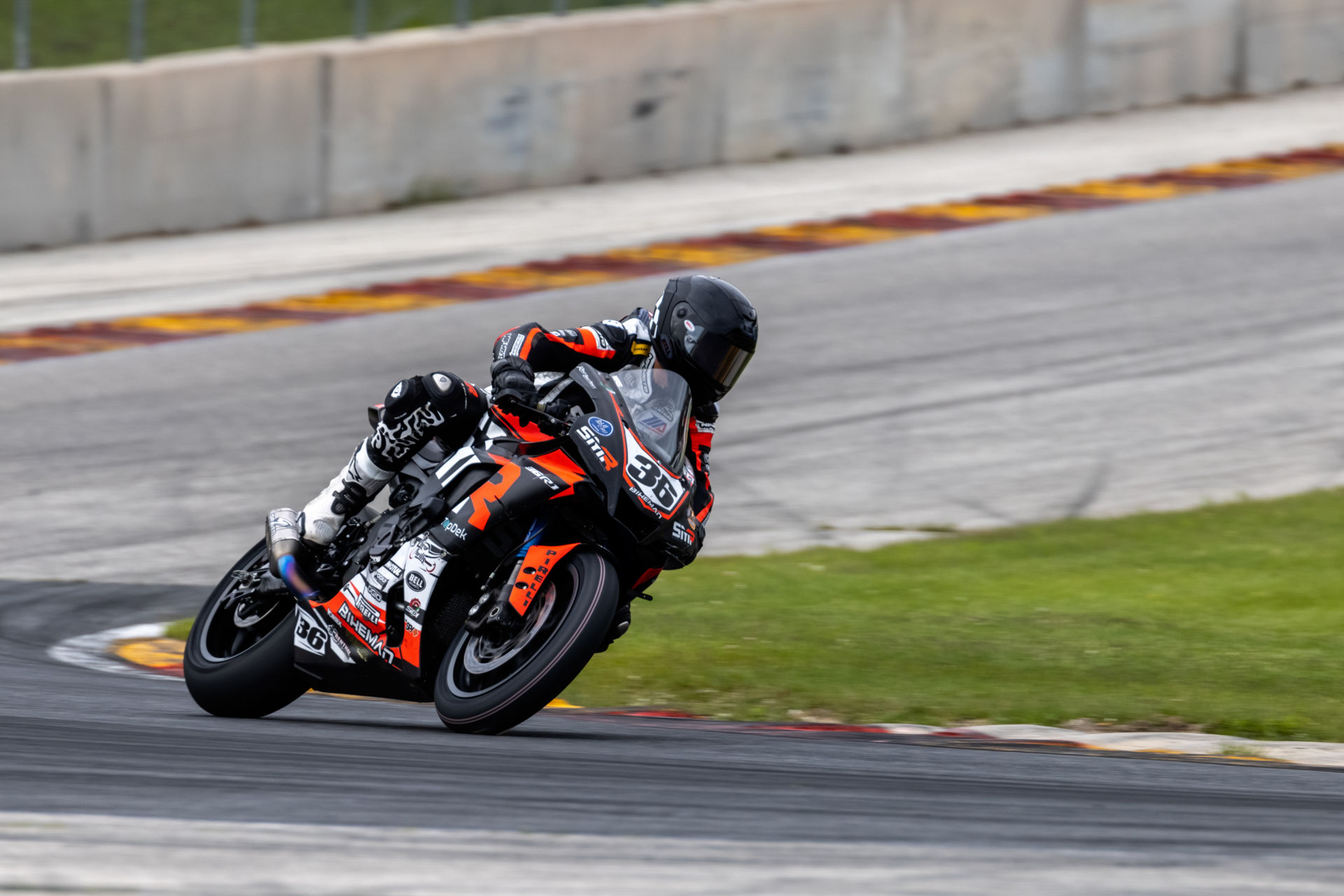 Jake Schmotter (36) finished second in the GP 3/4 Expert race. Photo by Chris Holden Photography, courtesy ZARS.
