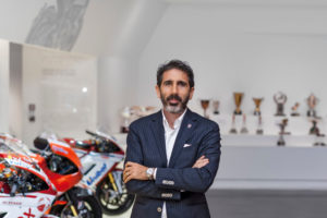 Francesco Milicia, Ducati Director of Global Sales and After Sales. Photo courtesy Ducati.