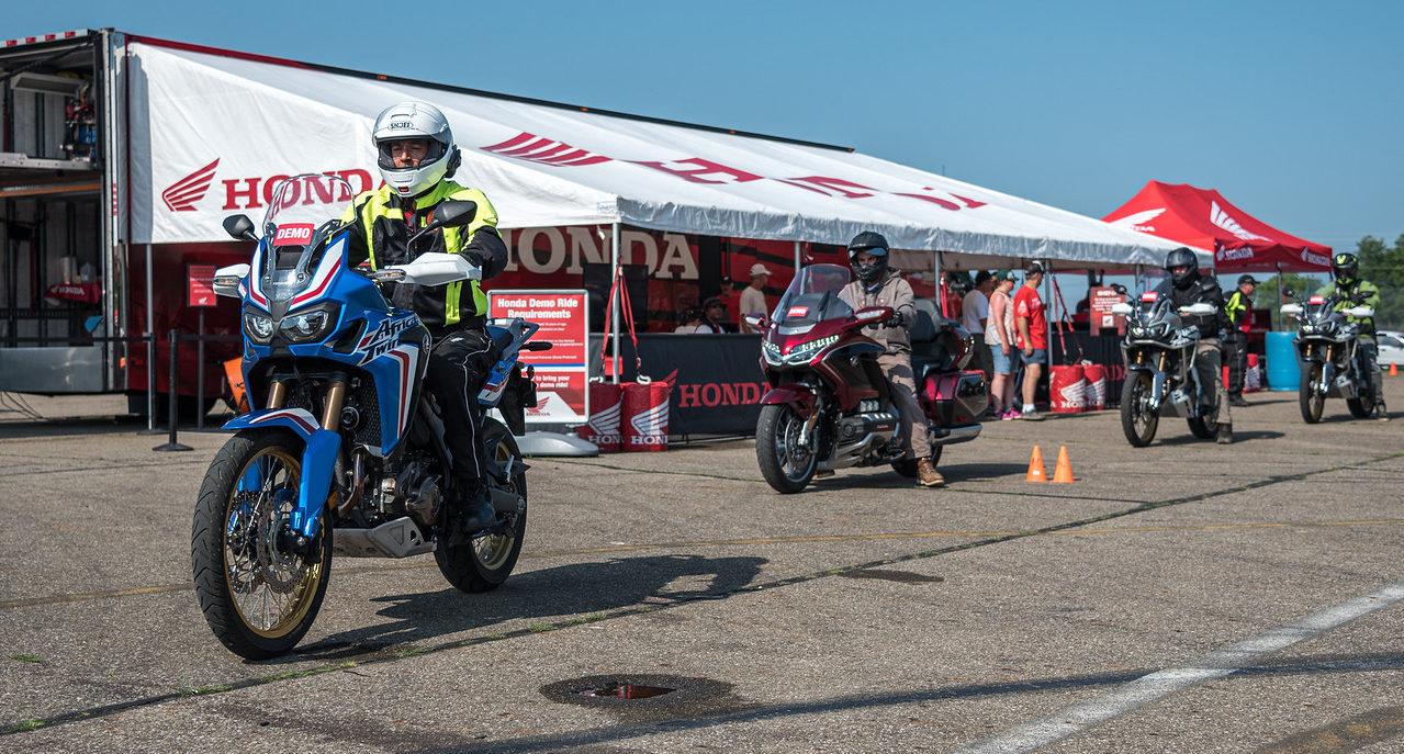 Honda will hold demo rides during AMA Vintage Motorcycle Days. Photo courtesy AMA.