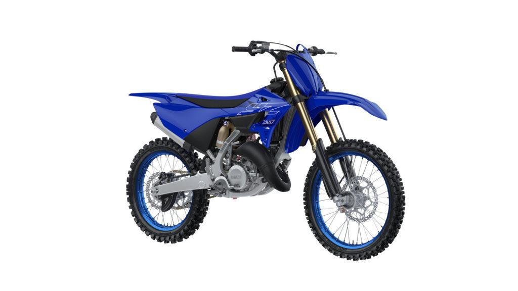 A 2022-model Yamaha YZ125. Photo courtesy Yamaha Motor Corp., U.S.A.