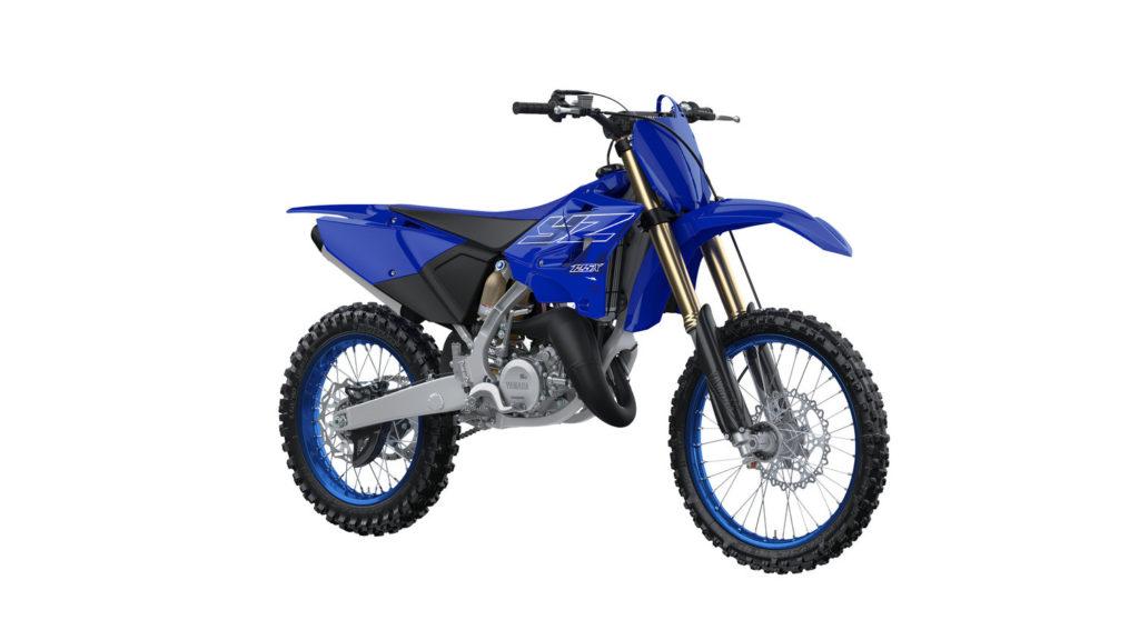 A 2022-model Yamaha YZ125X. Photo courtesy Yamaha Motor Corp., U.S.A.