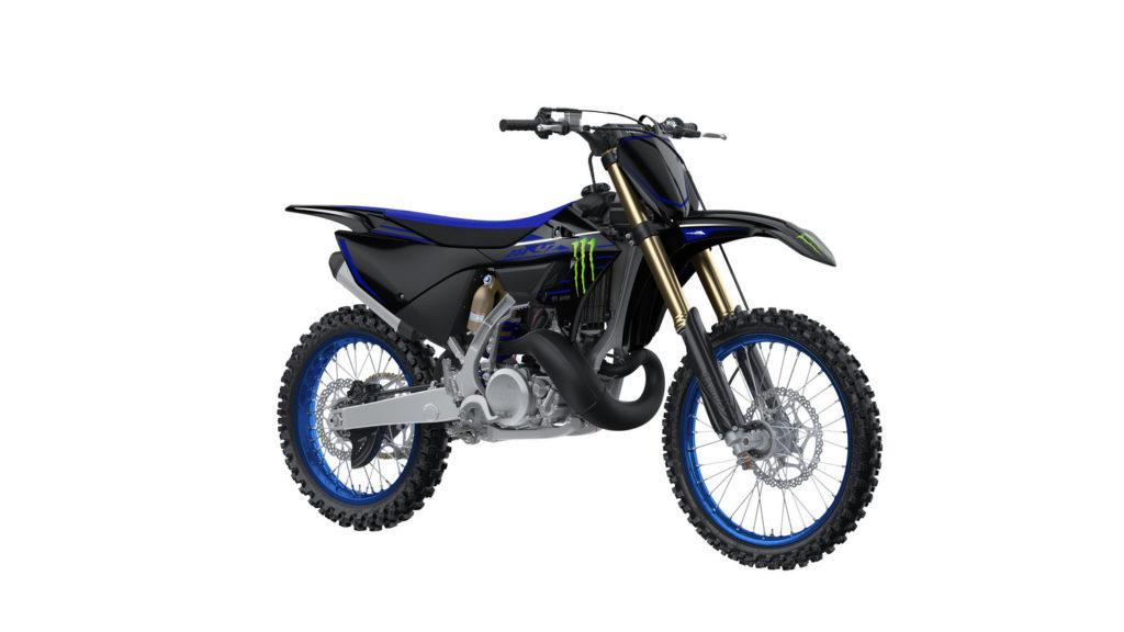 A 2022-model Monster Energy Yamaha Racing Edition YZ250. Photo courtesy Yamaha Motor Corp., U.S.A.