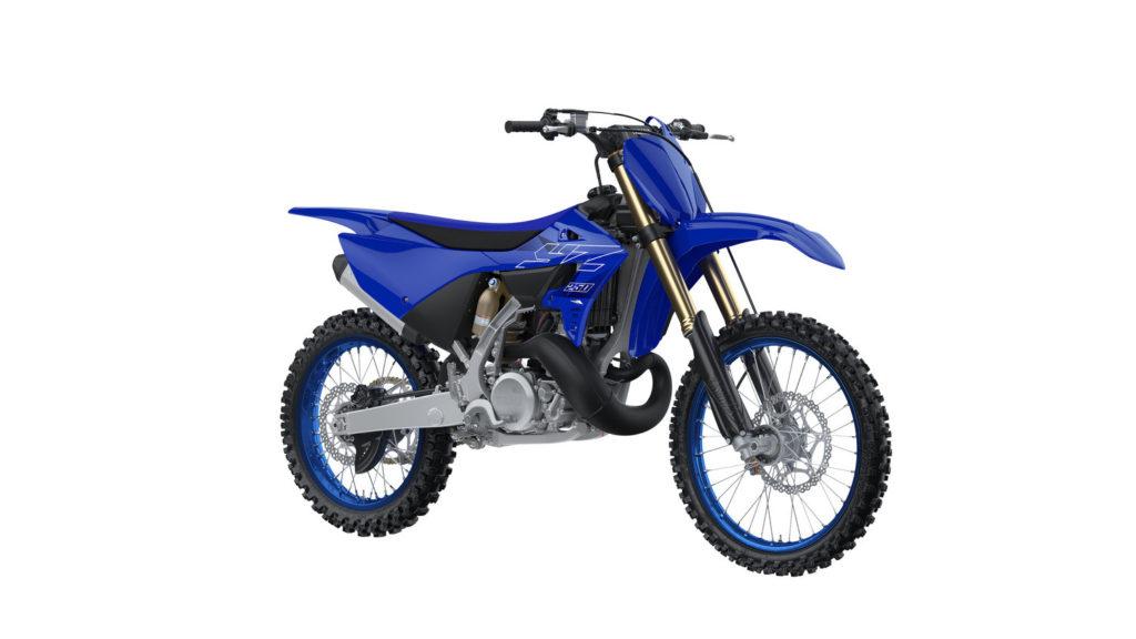 A 2022-model Yamaha YZ250. Photo courtesy Yamaha Motor Corp., U.S.A.