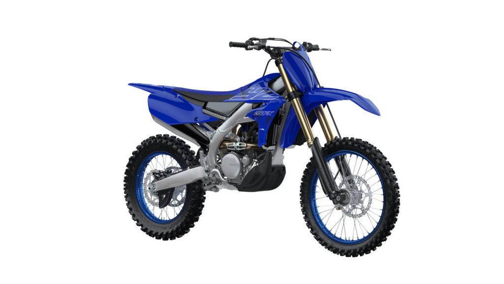 A 2022-model Yamaha YZ250FX. Photo courtesy Yamaha Motor Corp., U.S.A.