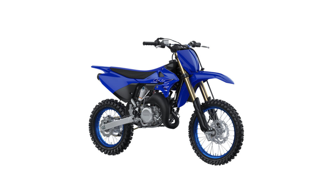 A 2022-model Yamaha YZ85. Photo courtesy Yamaha Motor Corp., U.S.A.