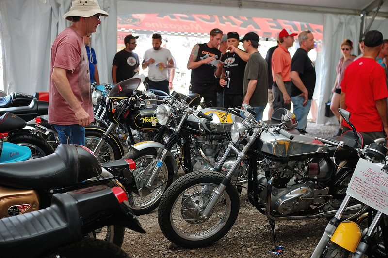 A scene from a previous AMA Vintage Motorcycle Days. Photo courtesy AMA.