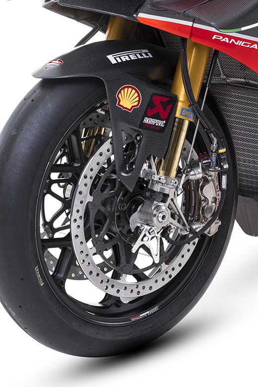 Brembo brakes on a World Superbike. Photo courtesy Brembo North America.