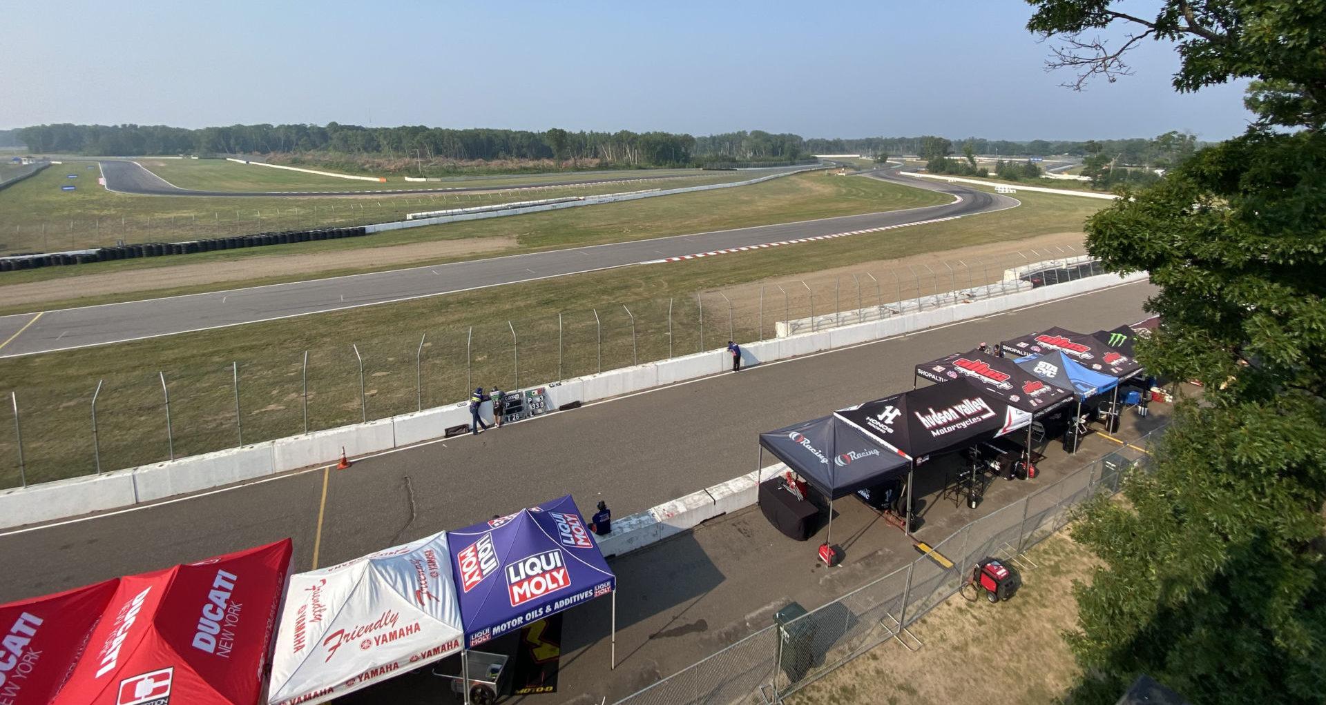 Brainerd International Raceway. Photo courtesy MotoAmerica.
