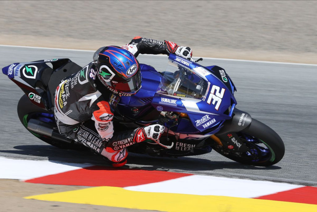 Jake Gagné (32 years old).  Photo by Brian J. Nelson, courtesy of MotoAmerica.