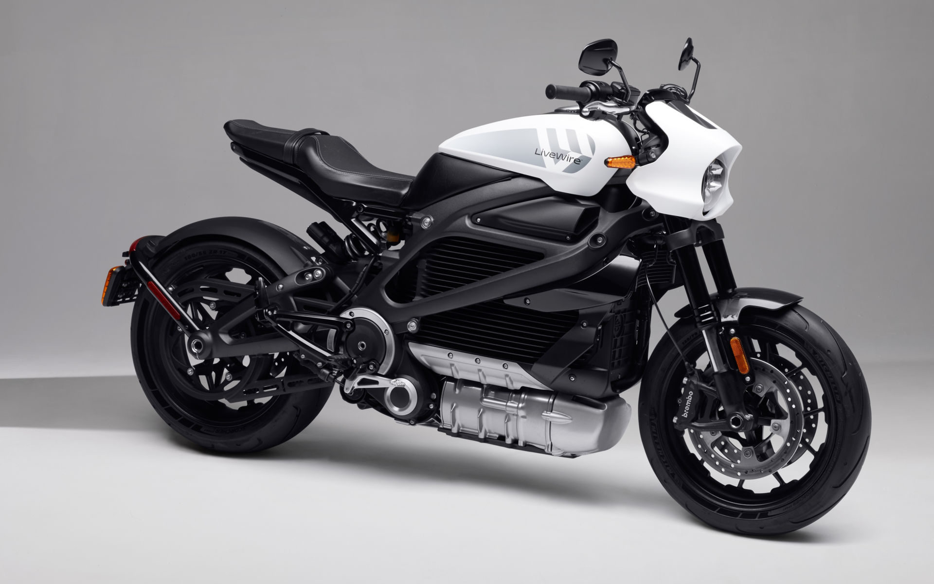 A LiveWire ONE electric motorcycle. Photo courtesy Harley-Davidson.