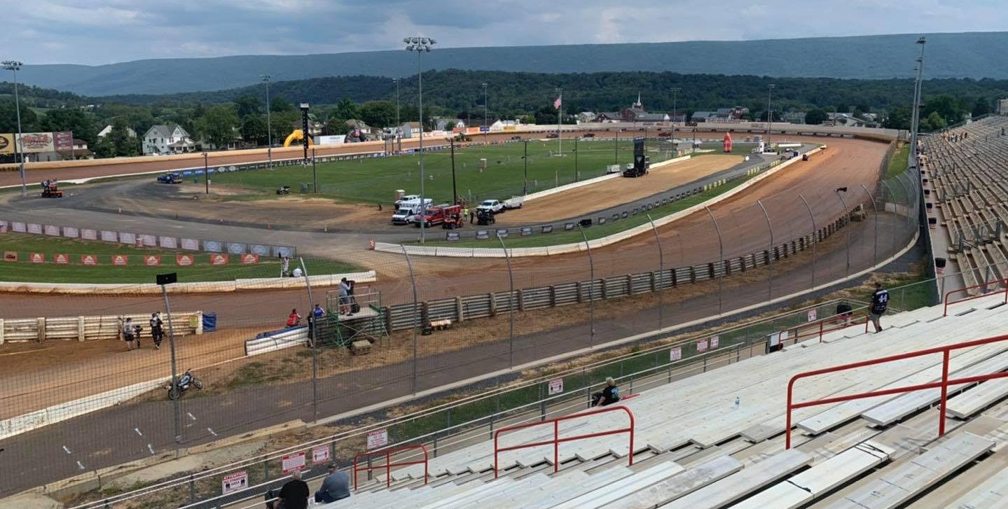Port Royal Speedway, in Port Royal, Pennsylvania. Photo courtesy Port Royal Speedway.