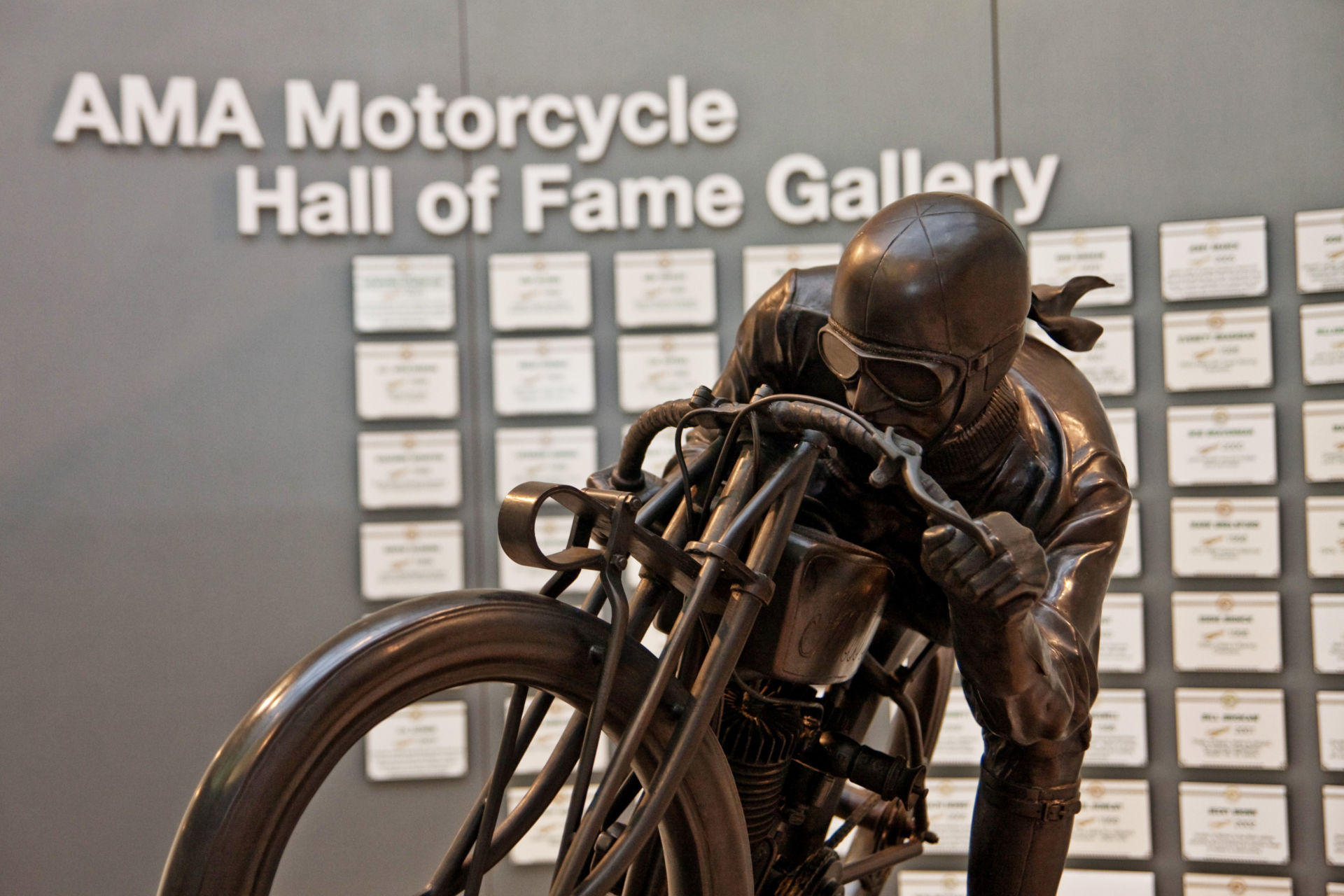 The AMA Motorcycle Hall of Fame