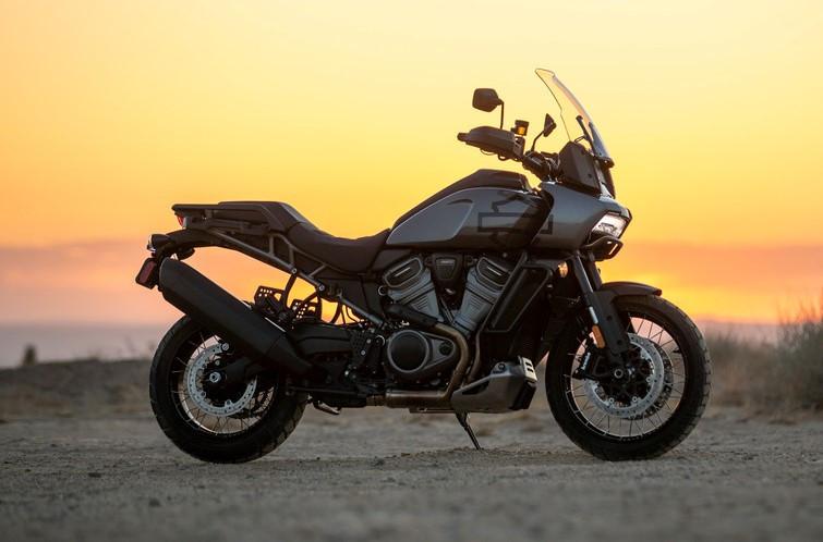 A 2021-model Harley-Davidson Pan America 1250. Photo courtesy Harley-Davidson.