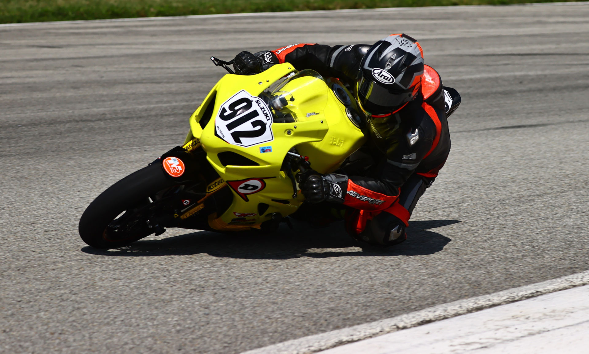 Dustin Dominguez (912) on the Twisted Speed Racing Suzuki GSX-R1000. Photo by Photos by Marty, LLC, courtesy Twisted Speed Racing.