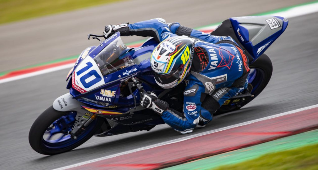 Unai Orradre (10). Photo courtesy Yamaha.