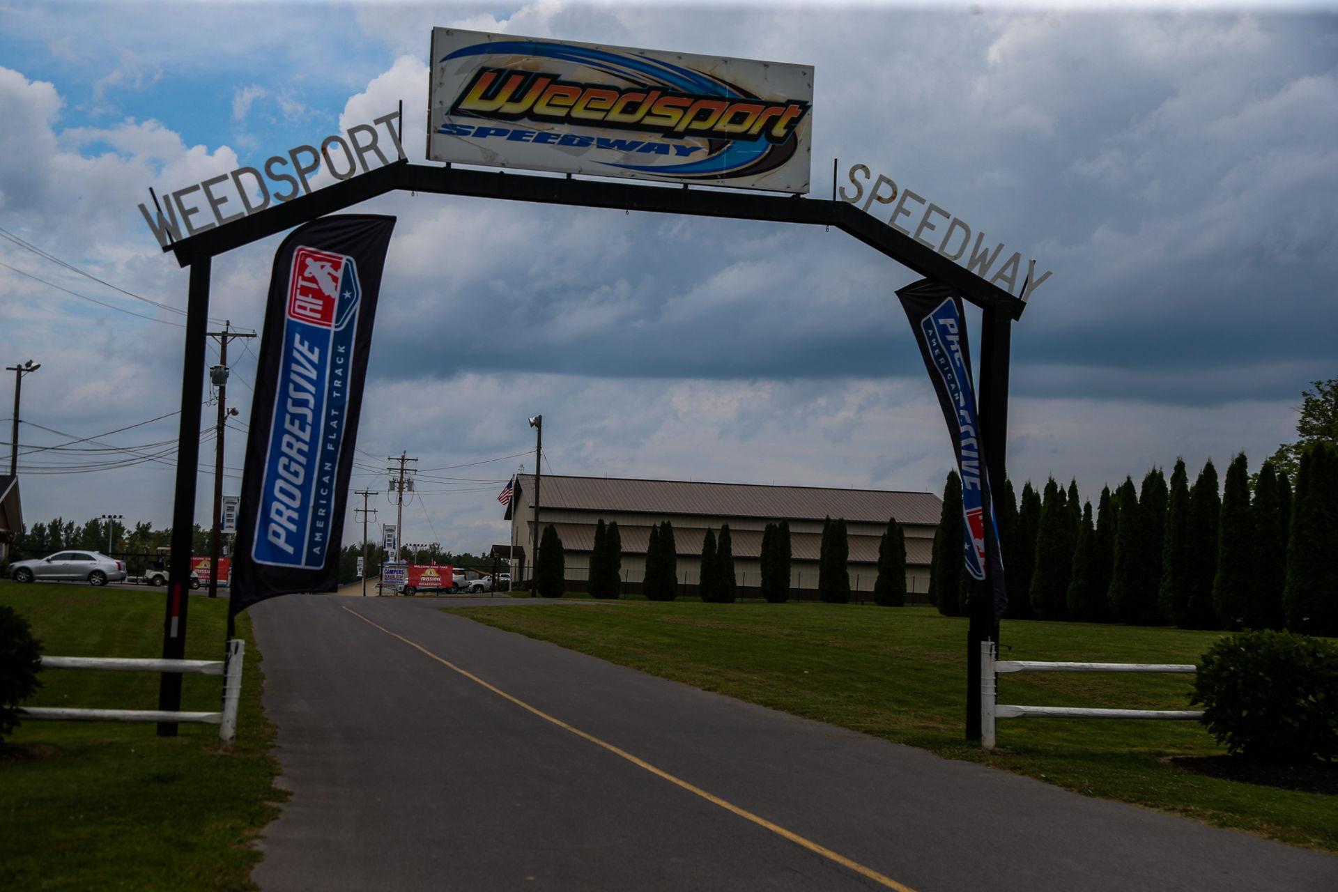 Weedsport Speedway. Photo by Scott Hunter, courtesy AFT.