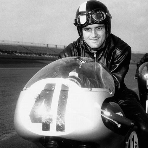 Yvon Duhamel. Photo courtesy AMA Motorcycle Hall of Fame.
