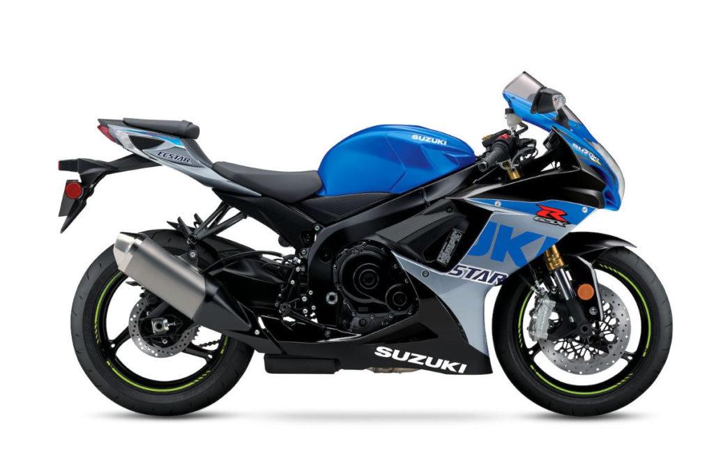 A 2022-model GSX-R750. Photo courtesy Suzuki Motor USA, LLC.